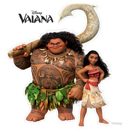 Moana και Maui σε δράση