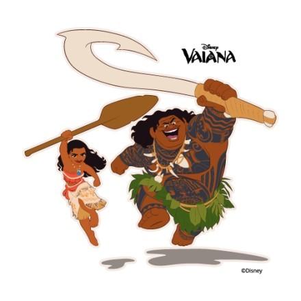 Happy Moana and Maui