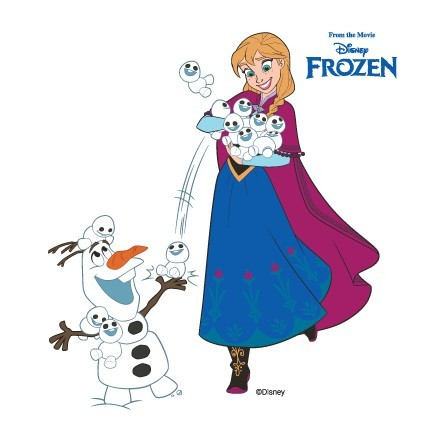 Η Άννα και ο Όλαφ παίζουν, Frozen!