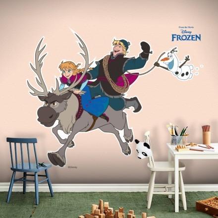 Anna, Sven, Kristoff and Olaf!!!
