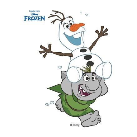 Ο Όλαφ και ένα τρολ, Frozen!!