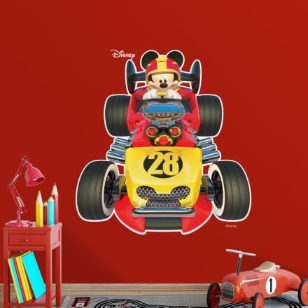 Racing Mickey!