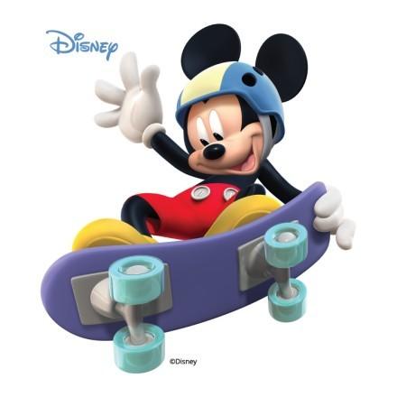 Mickey skating