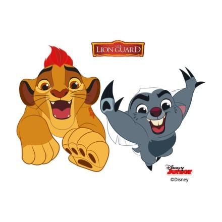 Bunga and Kion, Lion Guard Friends