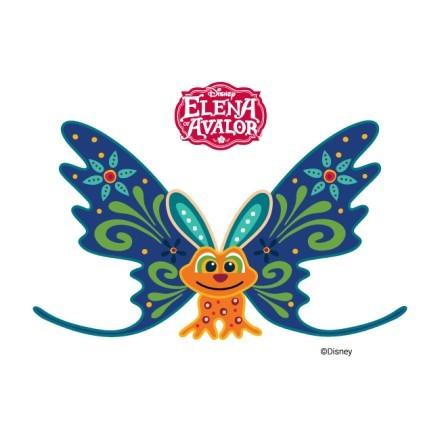 Πεταλούδα, Έλενα του Άβαλορ!