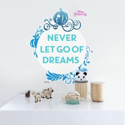 Never let go of dreams, Princess