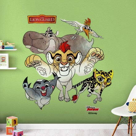 The Lion Guard, Kion and His Friends