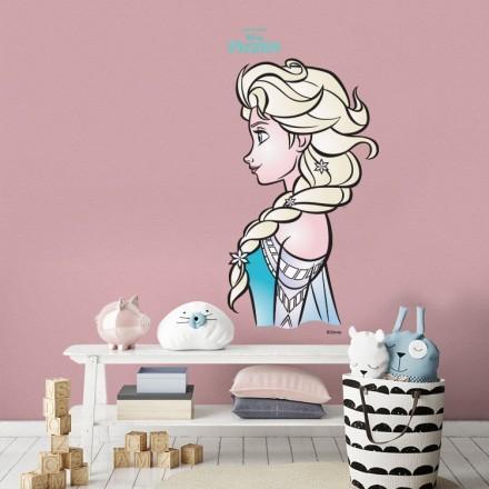 Profile of Elsa, Frozen!