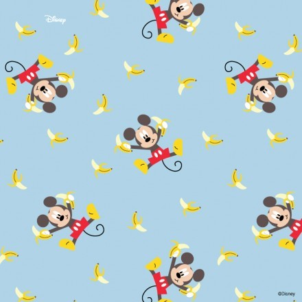 Ο Μίκυ τρώει μπανάνες!
