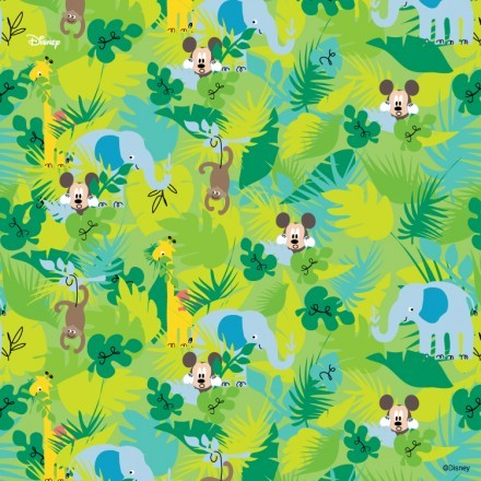 Mickey in the jungle!