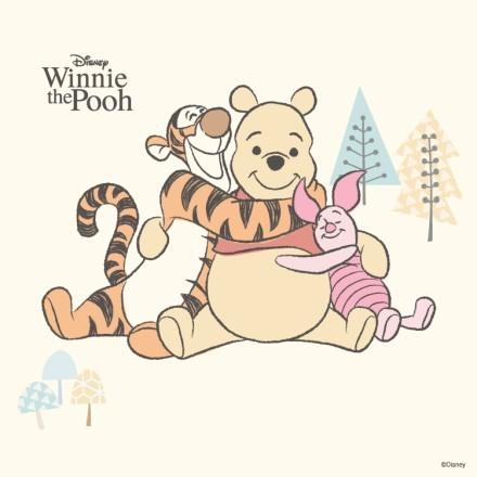 Tiger,Winnie the Pooh, Piglet