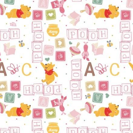 Ροζ μοτίβο με το Winnie!