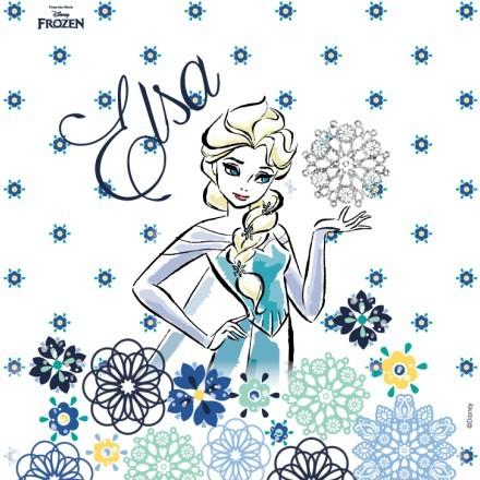Elsa with flowers, Frozen