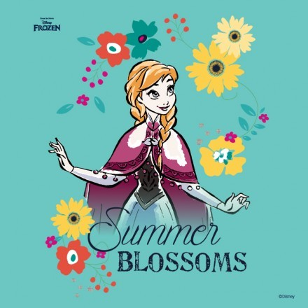 Summer blossoms, Frozen