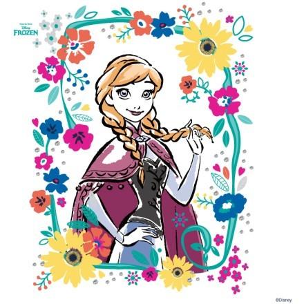 Αννα με πολύχρωμα χρώματα, Frozen