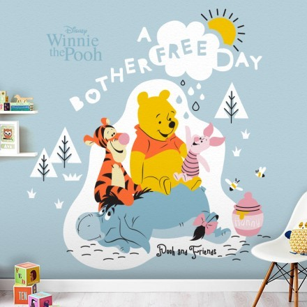 A bother free day, Winnie the Pooh