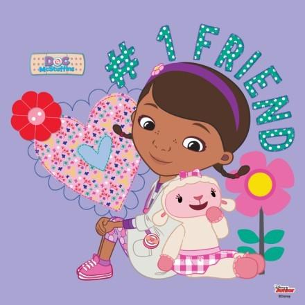 Η Αρνίτσα και η μικρή γιατρός Doc McStuffins!!