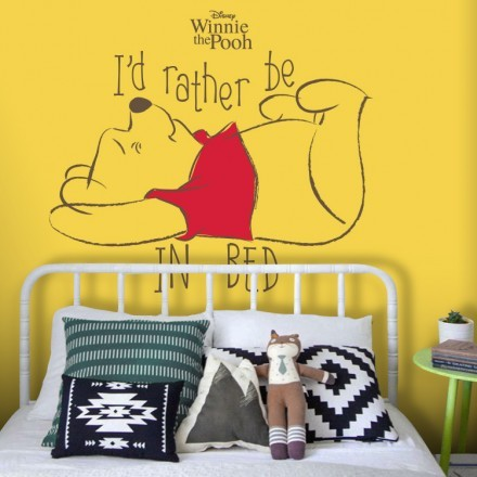 I'd rather be in bed, Winnie The Pooh