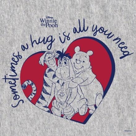 Sometimes a hug iw all you need, Winnie The Pooh