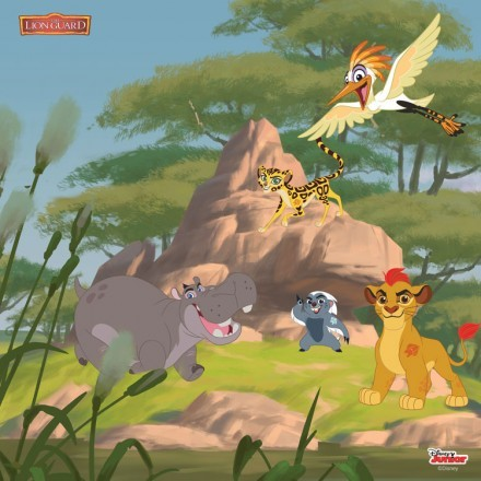 Lands from the Lion Guard