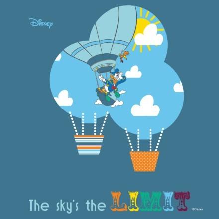 Τhe sky is the limit, Donald Duck!