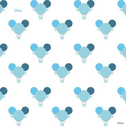 Μοτίβο με μπλε αερόστατα!