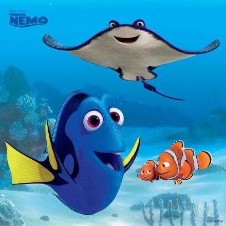 Nemo's teacher, Dory & Nemo