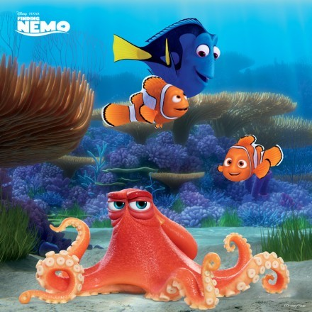 Hank, Marlin, Nemo & Dory