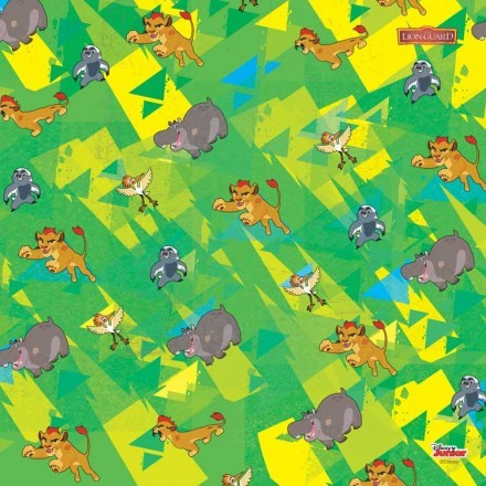 Lion Guard Characters Pattern