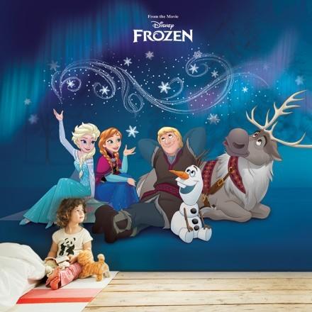 Kristoff, Olaf, Elsa, Anna & Sven ,Frozen