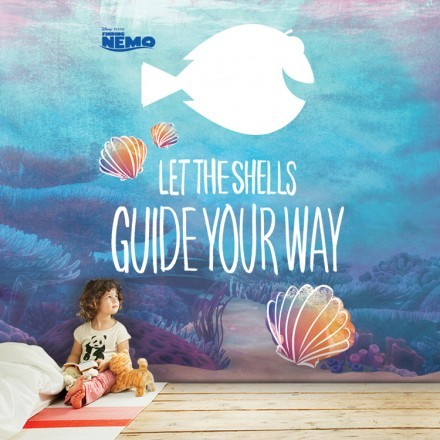 Let the shells give your way, Finding Dory