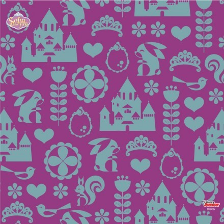 Castle of Sofia the First pattern