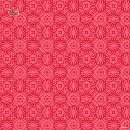 Κόκκινο μοτίβο από την Έλενα του Άβαλορ