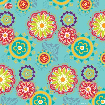 Flowers pattern, Elena of Avalor