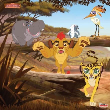 Η παρέα της φρουράς των λιονταριών