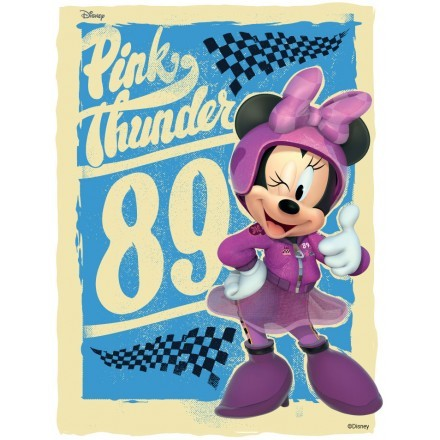 Pink Thunder 89, Minnie Mouse!