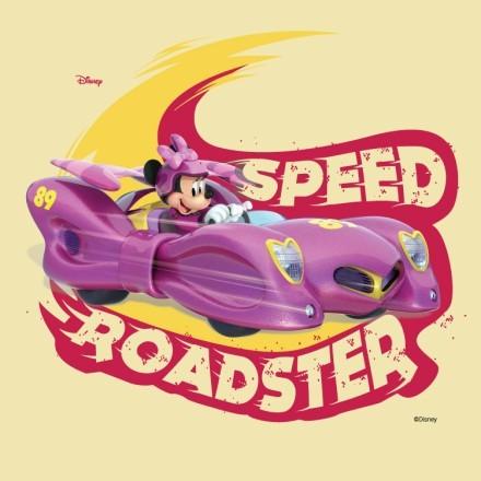 Speed roaster, Minnie Mouse!