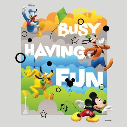 Busy Having Fun, Mickey Mouse!