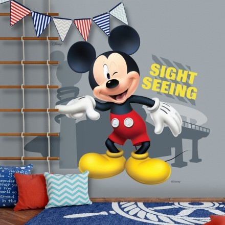 Sightseeing, Mickey Mouse!