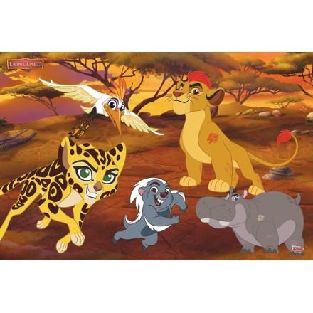 Η φρουρά των λιονταριών στη ζούγκλα, The Lion Guard