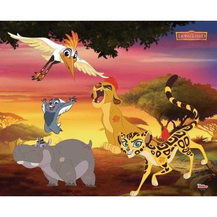 Kion, Bunga, Fuli, Beshte, The Lion Guard