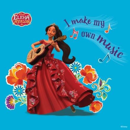 I make my own music,Elena of Avalor