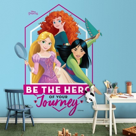 Be the hero of your journey, Princess!