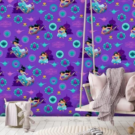 Purple pattern of Jasmine!