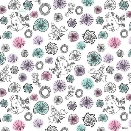 Λευκό μοτίβο της Πριγκίπισσας Άριελ!