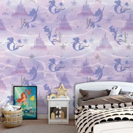 Μοβ μοτίβο της Πριγκίπισσας Άριελ!