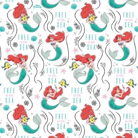 Free as the sea, Ariel!