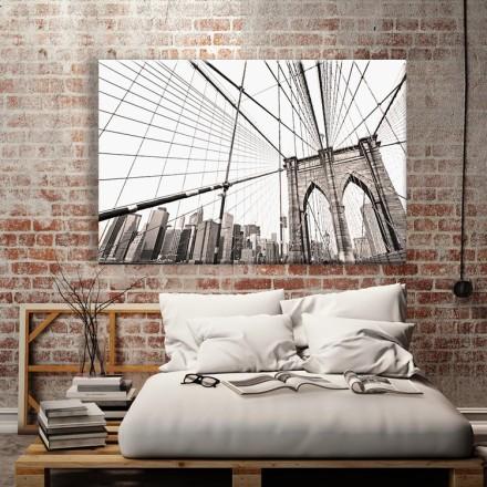 Η γέφυρα του Μπρούκλιν ασπρόμαυρη