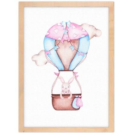 Κουνελάκι σε αερόστατο