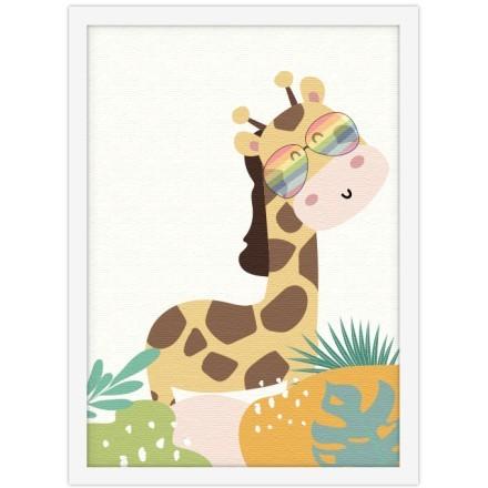 Χαριτωμένη καμηλοπάρδαλη
